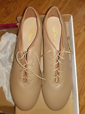 NWT So Danca TA05 Lace Up Oxford Tap Dance Shoes in CARAMEL Adult 11.5M