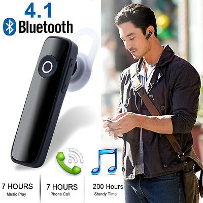 Bluetooth 4.1 Headset Wireless in-ear Stereo Headphones Handfree Earphone Earbud