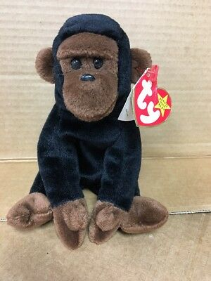 4756db534a5 CONGO TY BEANIE Baby Very Rare All Errors Sticker On Tush Tag Style ...