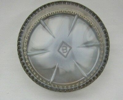 Boyd Glass  C. W Coasters ( Gray Opalescent Slag ) First Five Years