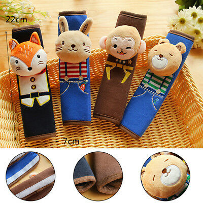 Baby Cartoon Car Seat Belt Strap Cover Shoulder Pad Cushion Stroller Harness