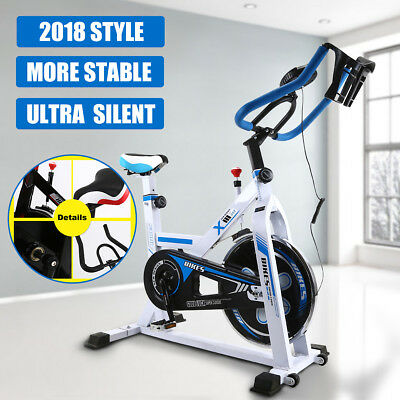 Home Commercial Spin Bike Workout Gym Exercise Bicycle Flywheel Fitness 2018 AU