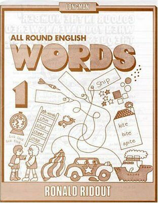 All Round English Words 1: Words Bk. 1 by Holt, M Paperback Book The Cheap Fast