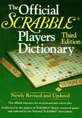 The Official Scrabble Player's Dictionary Hardback Book The Fast Free Shipping