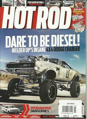 HOT ROD MAGAZINE - May 2018(NEW COPY)*Post included to UK/Europe/USA/Canada