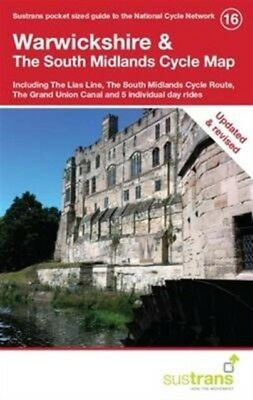 Warwickshire & The South Midlands Cycle Map (Map), 9781900623384