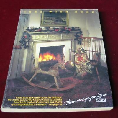 Vintage 1983 Sears Roebuck & Company Christmas Wishbook  Catalog