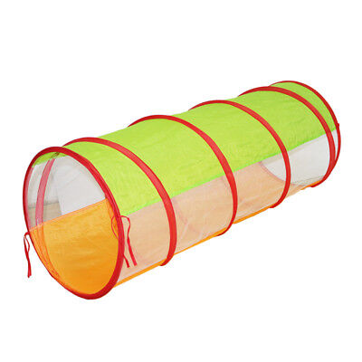 Portable Kids Pop Up Tunnel Play Tent for Toddler Crawling Fun 120cm
