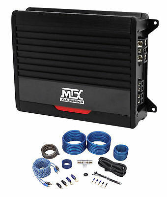 mtx thunder500 1 500 watt rms mono class d 2-ohm car audio amplifier