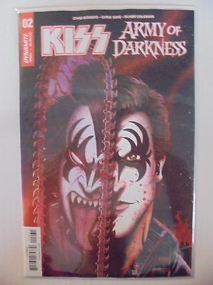 Kiss Army of Darkness #2 C Cover Dynamite NM Comics Book