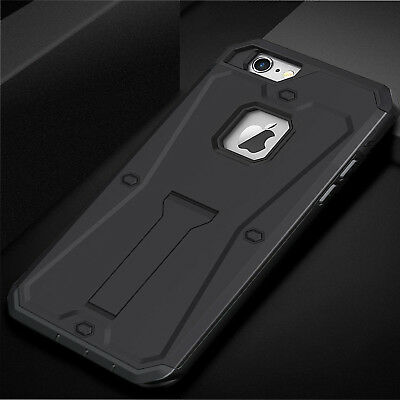 Full-body Rugged Hybrid Armor Defender Shockproof Stand Cover for iPhone 6s 7 8