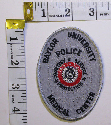 Baylor University Medical Center Texas Police Department Shoulder Patch