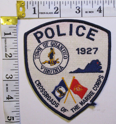 Quantico Virginia Police Department Shoulder Patch