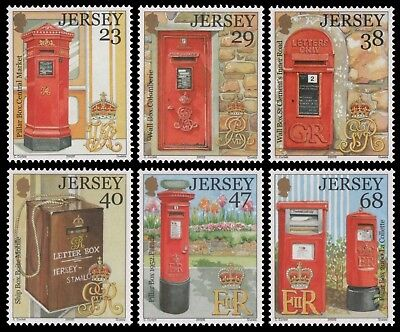 Jersey 2002 - Mi-Nr. 1055-1060 ** - MNH - Briefkästen / Post boxes