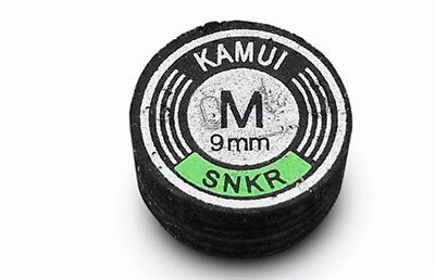 Kamui Black Snooker Tip Available In Various Sizes And Densities S2026