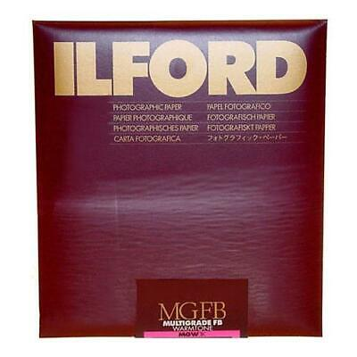 "Ilford Multigrade FB Warmtone VC Enlarging Paper, Semi Matte, 11x14"", 10 Sheets,"