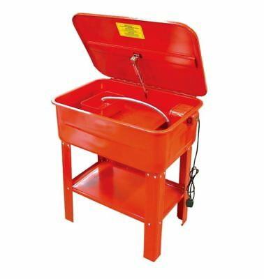 20 Gallon Parts Washer Electric Pump Degreaser Cleaner Cleaning Bench Standing