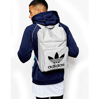 d5d3730af8 adidas Originals Men s Classic Trefoil Backpack Gym Sport Work School Travel