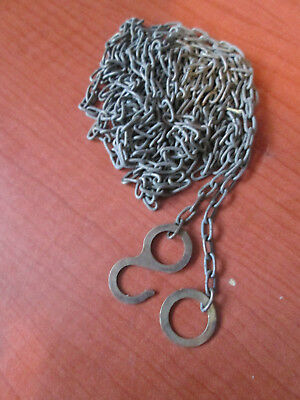 "Vintage Cuckoo Clock Weight Chain 74""  62 LPF.   (885P)"
