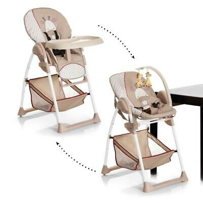 Hauck Sit 'n' Relax Highchair (Giraffe) Suitable From Birth