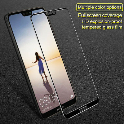 IMAK For Huawei P20 Lite Colors Full Cover Tempered Glass Screen Protector Film