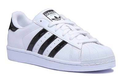 official photos discount sale best prices JUNIOR BOYS ADIDAS Superstar Infants Trainers Size UK 5K - 2 ...
