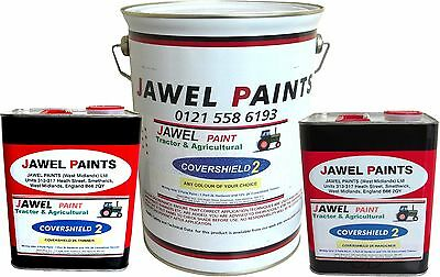 Tractor & Agricultural Paint (2K EXTRA DURABLE) INT. HARVESTER RED  6.5lt KIT