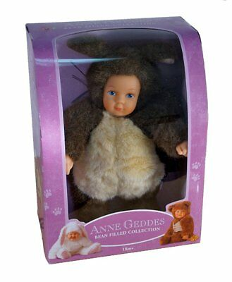 Anne Geddes Bean Filled Collection Plush Baby Squirrel Doll ~ NEW IN BOX
