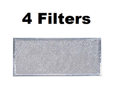 2-Pack Air Filter Factory DE63-00666A Compatible For Samsung Microwave Oven Aluminum Grease Filter