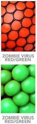 Xmas Gift Colors Red Green Infectious Disease Stress Ball Zombie Home Work