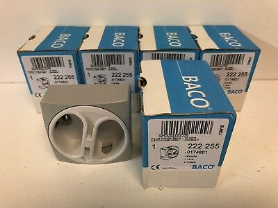 Lot Of (5) New Baco Rotary Switch Handles 222 255 0174601 74601