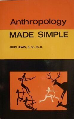 Anthropology (Made Simple) by Lewis, John Paperback Book The Cheap Fast Free