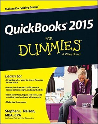 QuickBooks 2015 For Dummies by Nelson, Stephen L. Book The Cheap Fast Free Post