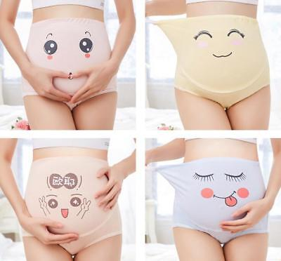 Pregnant High Waist Cotton Briefs Shorts Panties Underwear Knickers Underpants