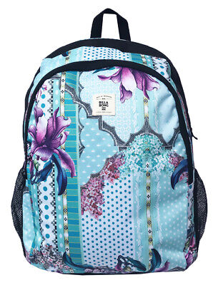 New + Tag Billabong Sea Slider Backpack School Gym Bag Womens Girls Large Aqua