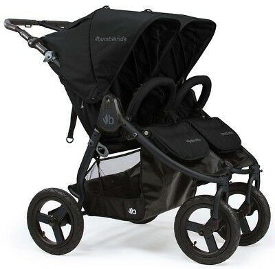 Bumbleride Indie Twin All Terrain Twin Baby Double Stroller Matte Black NEW 2018