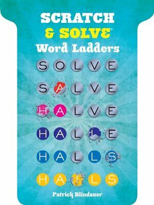Scratch & Solve� Word Ladders by Patrick Blindauer Paperback Book The Cheap Fast