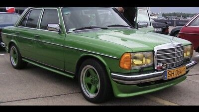MERCEDES BENZ W123 AMG Bumper Spoiler Front ,Body Kit  sedan , Wagon, Coupe