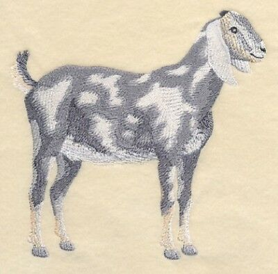 Embroidered Sweatshirt - Nubian Goat #2 J7275