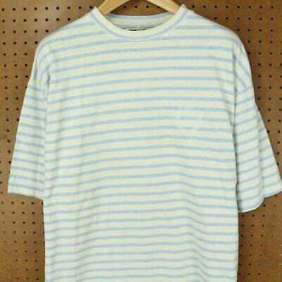 9c34e85958 vtg 90's usa made I.O.U. t-shirt sz XL - 2XL surfer stripes vaporwave  aesthetic