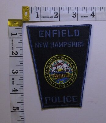 Enfield New Hampshire Police Shoulder Patch