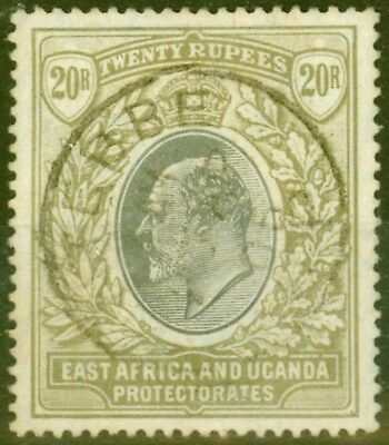 East Africa KUT 1907 20R Grey & Stone SG32 Fine Used Example