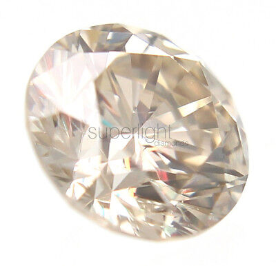 0.23 Carat Fancy Brown SI3 Round Brilliant Natural Loose Diamond For Ring 3.7mm