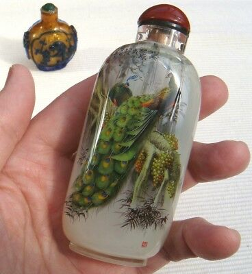 2 Snuff Bottles, Snuffbottle, Masterpiece, China, Feng Shui