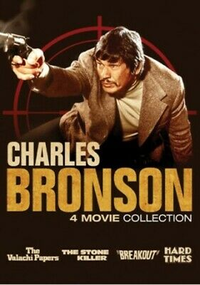 Charles Bronson: 4 Movie Collection [New DVD] 2 Pack