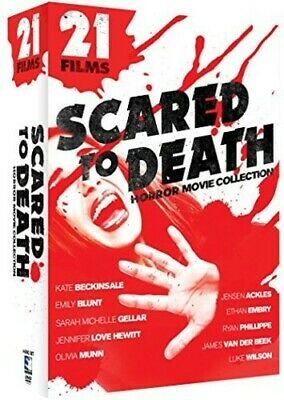 Scared to Death: Horror Movie Collection: 21 Films [New DVD] 4 Pack