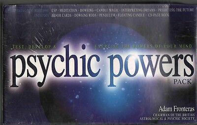 PSYCHIC POWERS PACK: Test, Develop & Exercise Powers of Your Mind - MINT -  NEW