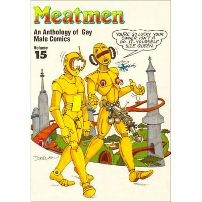 Meatmen : An Anthology of Gay Male Comics (Vol 15): Vol - Paperback NEW Leyland,
