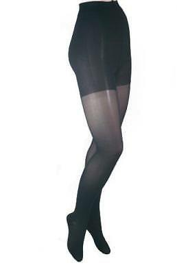 ITA-MED 20-22 mmHg Tall Black H-150 Sheer Pantyhose Compression - Pack of 3