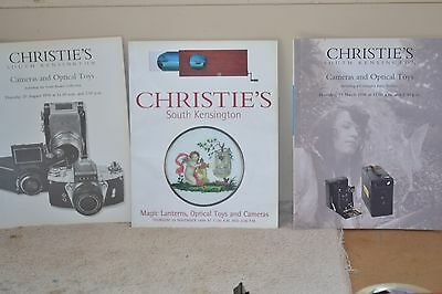 Lot of Christies Auction Catalogs 1998/1998/1999
